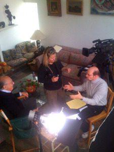 interviewingLarryRosenthal-sm