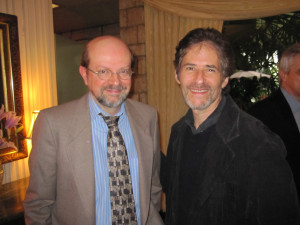 "JB with James Horner post-""Avatar"""