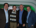 L-R: Jon Favreau, Richard Sherman, John Debney, JB