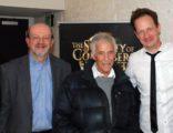 L-R: JB, Burt Bacharach, director John Asher