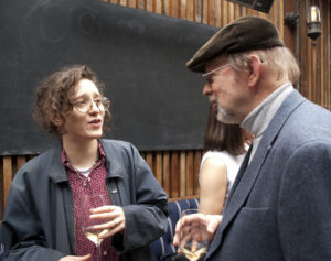 Chatting with composer Mica Levi at the SCL Oscar reception